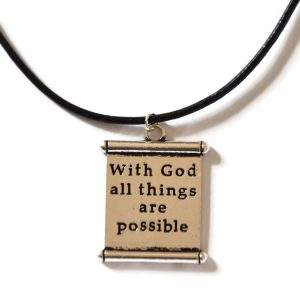 With God all Things are possible Chain