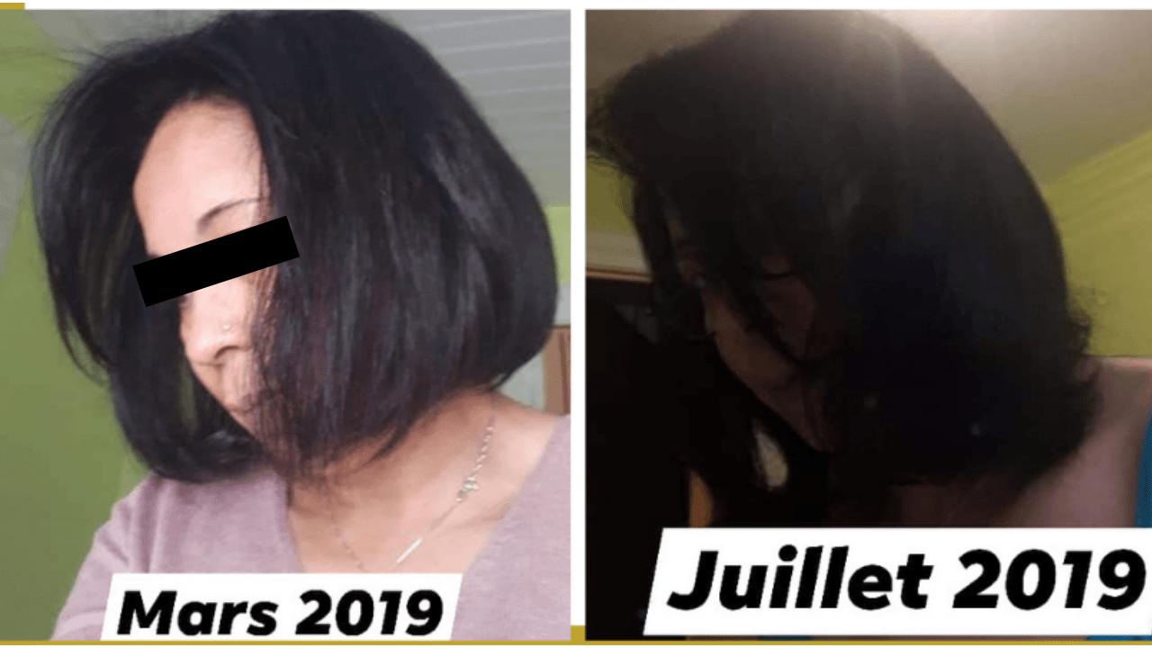 Transformation d'Jenny de Mars 2019 à Juillet 2019